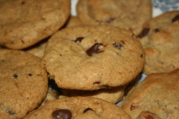 Good for You Chocolate Chip Cookies