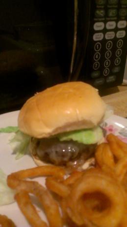 Juicy Pan Fried Burgers