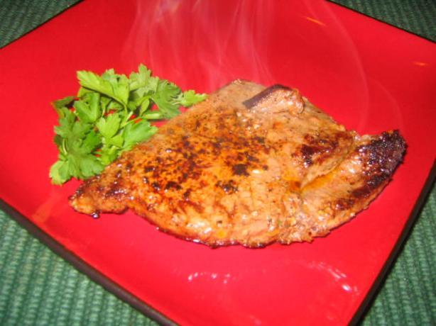 Grilled Garlic Pepper Steak