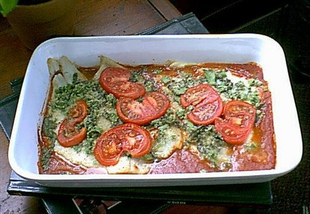 Fresh Tomato & Basil Baked Fish