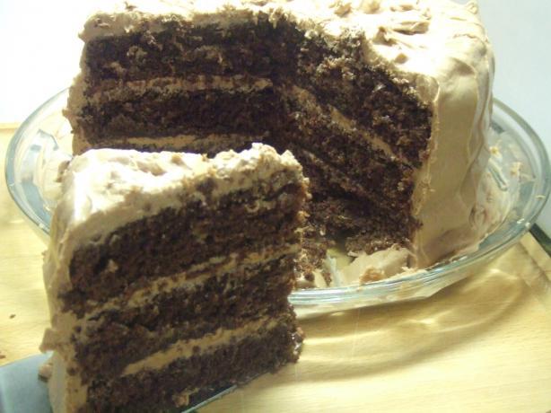 V's Chocolate Coma Cake (Triple Layer)