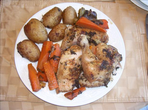 Crock Pot Braised Chicken With Vegetables