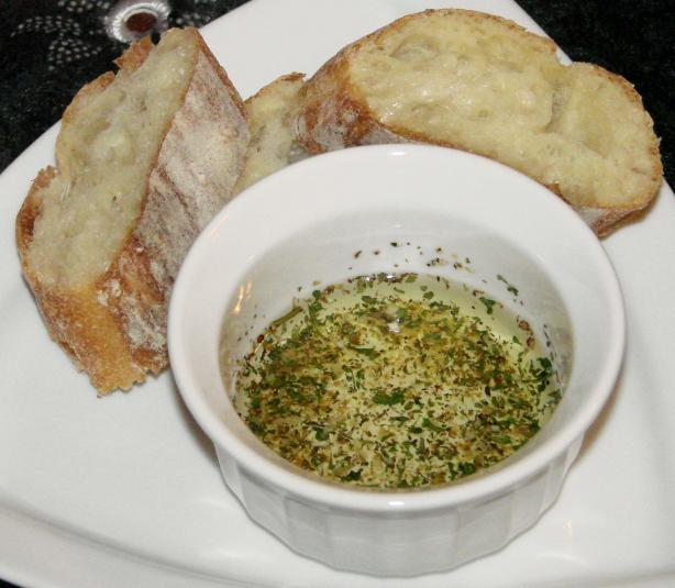 2-Second Italian Bread Olive Oil Dip