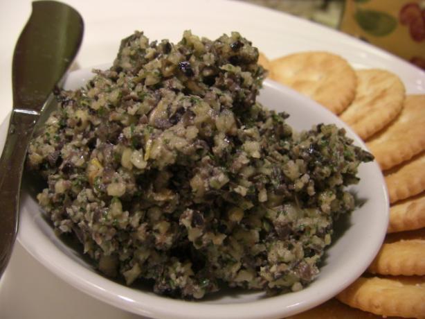 Kalamata Olive Tapenade (Spread or Dip)