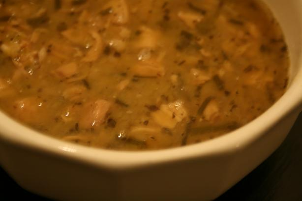 Split Pea and Smoked Turkey Soup