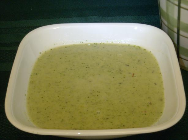 South Beach Cream of Broccoli Soup