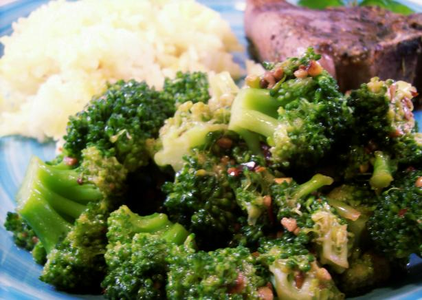 Sauteed Garlic Broccoli - Spicy
