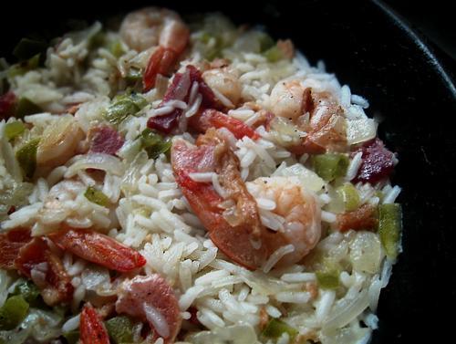 Ova Deh Shrimp and Rice
