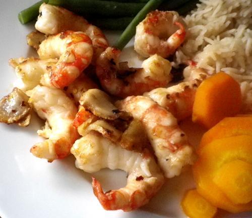 Hot Pepper and Garlic Shrimp