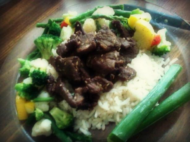 BULGOGI (marinated grilled beef)