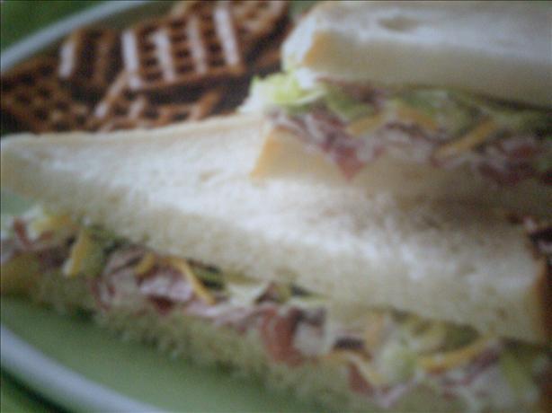 Creamy Beef Sandwiches