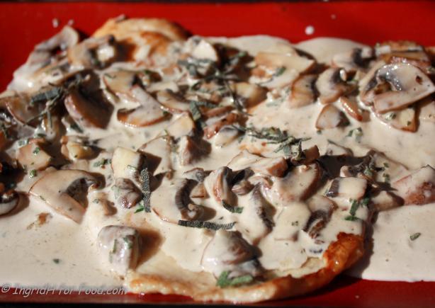 Trout With Mushroom Sauce ( Truites Aux Champignons)