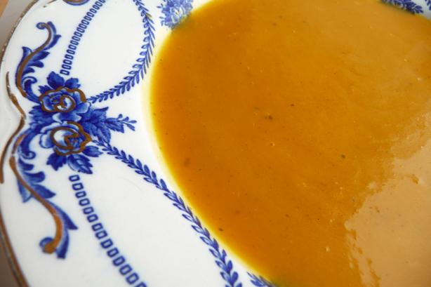 Butternut Squash and Curry Soup