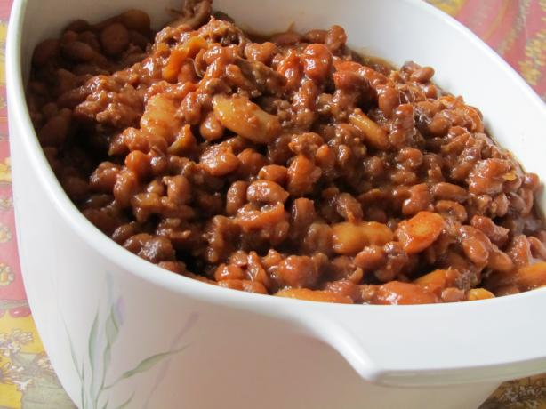 Heather's BBQ Baked Beans