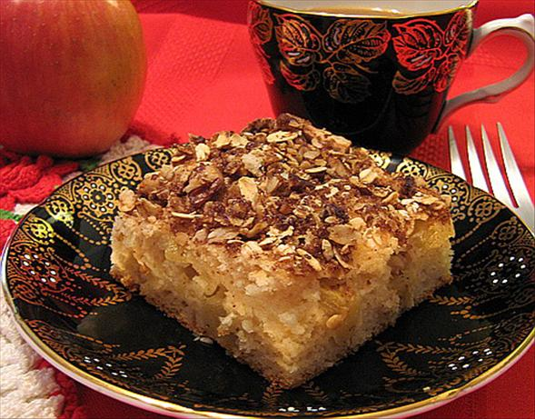 Kim's Inspiration Apple Sour Cream Cake