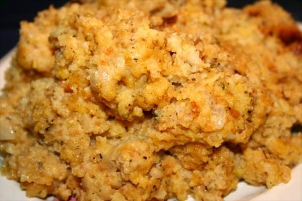 Crock Pot Cornbread Dressing