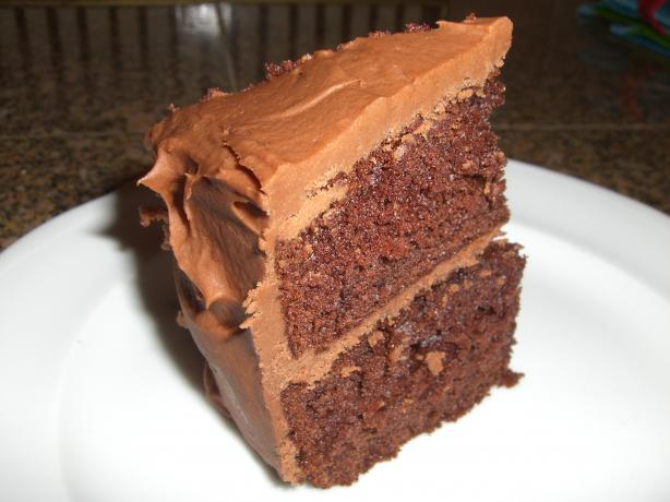 Old Fashioned Devil's Food Cake (Cake Mix Doctor)