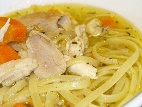 Real Chicken Noodle Soup