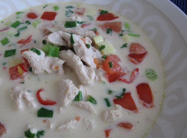 Chicken Soup, Thai-Style