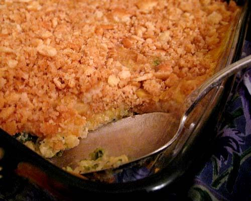 Rice & Broccoli Casserole