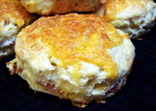 Cheddar and Bacon Buttermilk Scones
