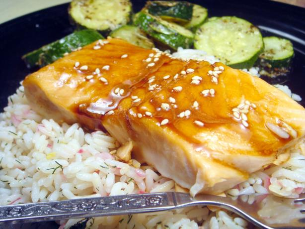 Maple-Soy Glazed Salmon (America's Test Kitchen)