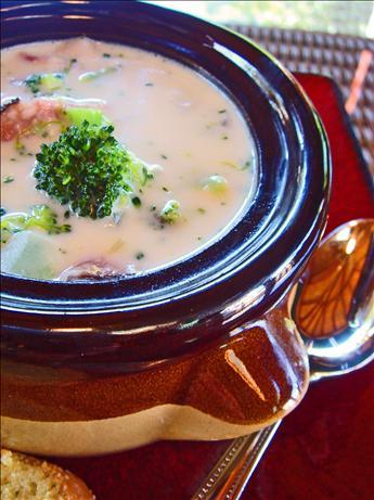 Ham & Swiss Soup