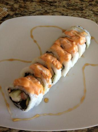 Baked Salmon Roll With a Sweet Ponzu Sauce