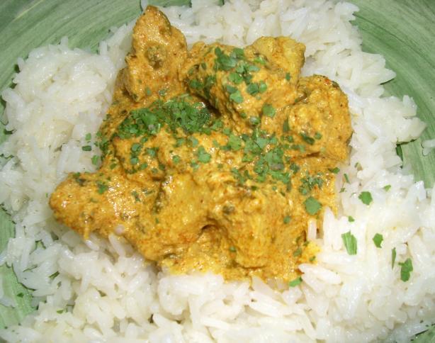 Super Easy Chicken Curry
