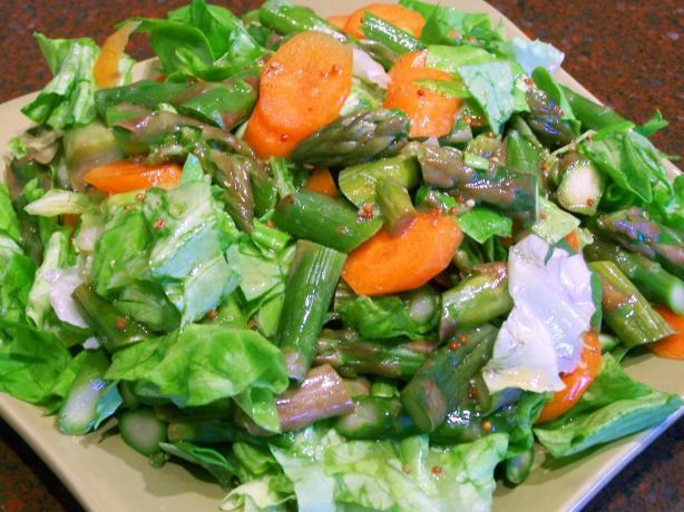 Asparagus Tossed Salad