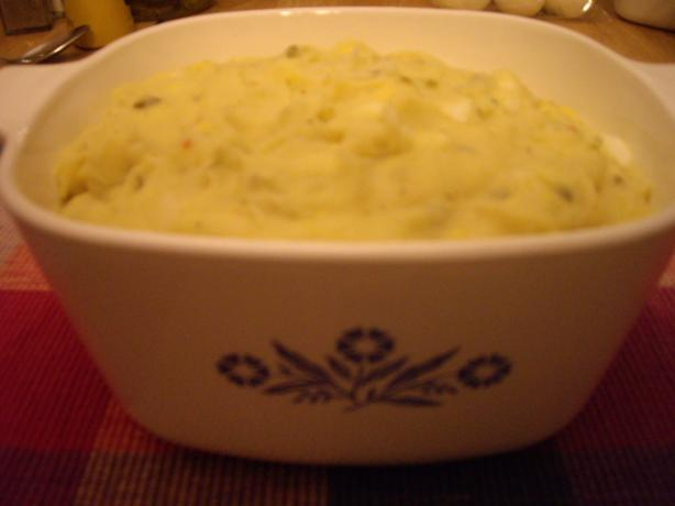 Mom's Mashed Potato Salad