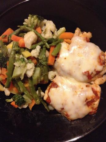 No Breading Baked Chicken Parmesan