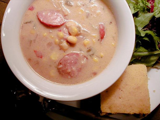 Santa Fe Corn & Sausage Stew