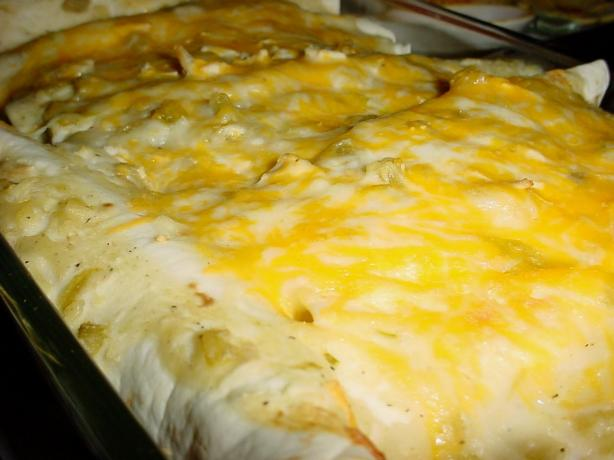 Homemade Chicken Cheese Enchiladas