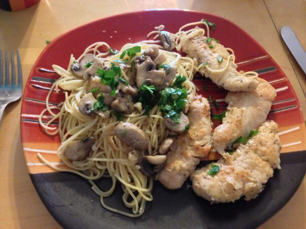 Chicken in Sherry Mushroom Sauce