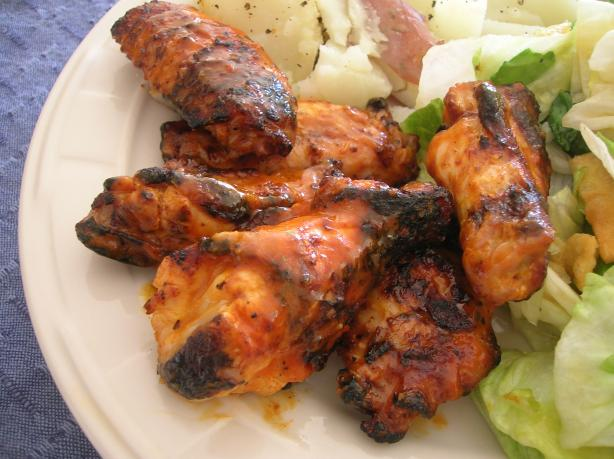 Grilled Chicken Wings With Frank's Red Hot Sauce
