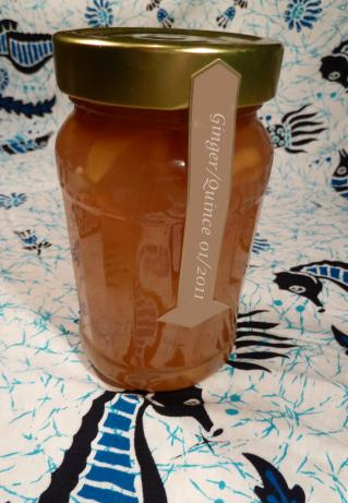 Quince-Ginger Marmalade (Jam)