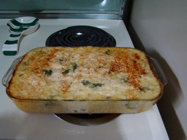 My Mom's Chicken Broccoli Rice Casserole