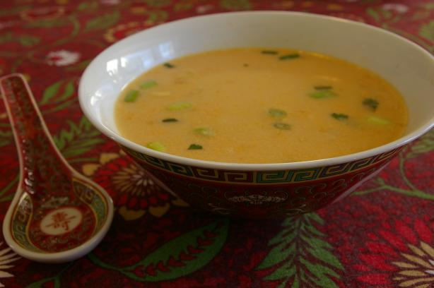 Easy Tom Kha Thai Coconut Soup