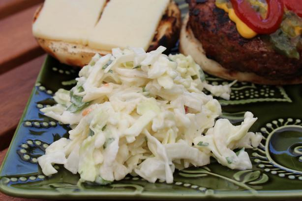 Quick Asian-Style Cole Slaw