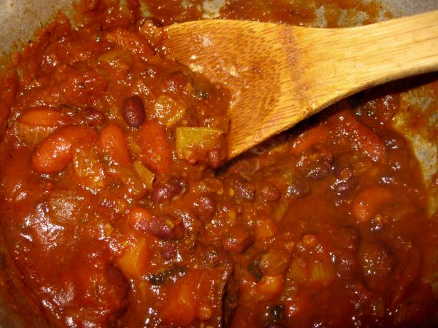Chili to Take the Chill off (Vegetarian or Vegan)