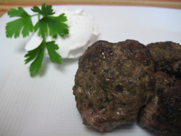Lebanese Lamb Meatballs