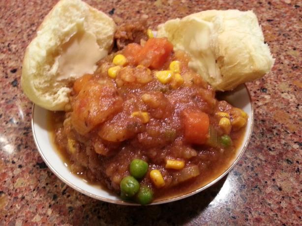 Mom's Beef Stew (Pressure Cooker)