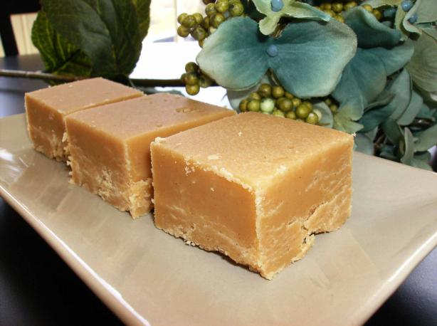 Just Peanut Butter Fudge