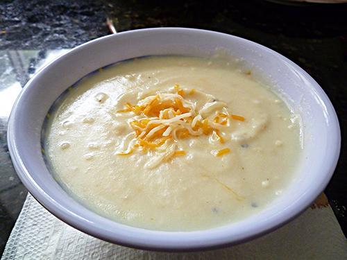 Super Fast, Super Easy Mashed Potato Soup