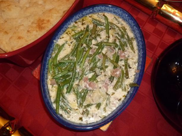 French Green Beans in Cream
