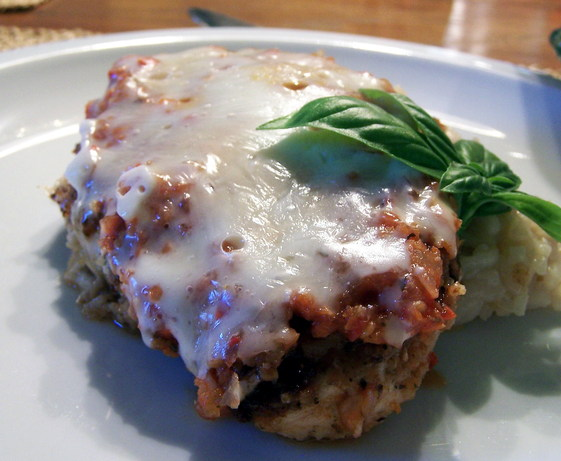 Chicken Parmesan - Low Fat
