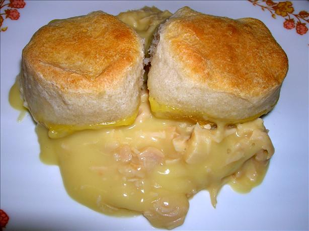 One Dish Chicken & Biscuit Bake