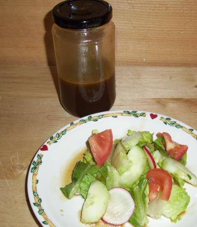 My Uncle's Soy Sauce Salad Dressing