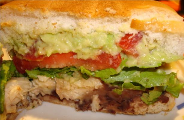 Mexican-Style Chicken Sandwiches